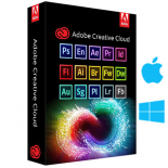Adobe Master Collection 2021 win/Mac Lifetime Use: Photoshop, Illustrator, After Effects, Premiere Pro, InDesign, Lightroom...