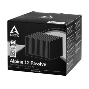 Пасивен CPU охладител Intel, Alpine 12 Passive