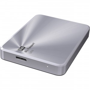 Външен 2TB USB 3.0 Western Digital MyPassport Ultra Metal Silver