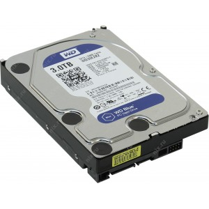 "Твърд диск 3.5"" 3TB Western Digital Blue"