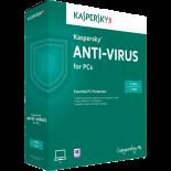 Касперски Антивирус 2016 1PC 1Y Подновяване, промо + 3 месеца