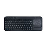 Клавиатура Logitech Wireless Touch K400 Plus Black