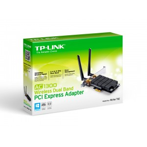 PCI Express Adapter AC1300 Wireless Dual Band, TP-Link Archer T6E