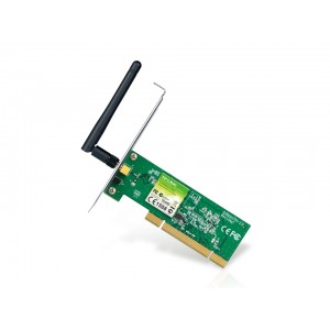PCI Adapter 150Mbps Wireless N, TP-Link TL-WN751ND