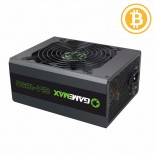 Захранване 1650W APFC 87+ Gold Bitcoin Mining 16xPCIe, Gamemax GM-1650