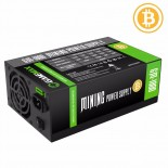 Захранване 1800W APFC 90+ Gold Bitcoin Mining 18xPCIe, Gamemax GM-1800