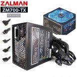Захранване 700W APFC 80+ Blue Led Fan, Zalman ZM700-TX