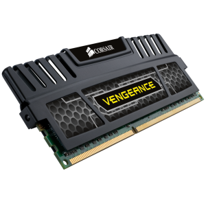 Памет DIMM DDR3-1600 8GB, Corsair Vengeance Black Heat Spreader