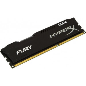 Памет DIMM DDR4-2400 8GB, Kingston HyperX Fury Black