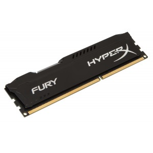 Памет DIMM DDR3-1600 8GB, Kingston HyperX Fury Black