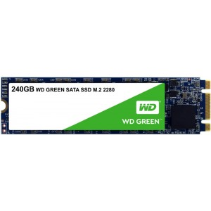 M2 SATA SSD 240GB, WD Green