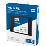 "2.5"" 3D NAND SSD 500GB, WD Blue"
