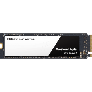 M2 NVMe SSD 500GB, WD Black