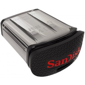 USB 3.0 Flash Drive 64GB, SanDisk Ultra Fit