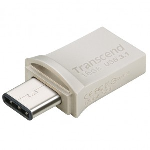USB Type C 16GB On-The-Go for ANDROID, Transcend JetFlash 890S