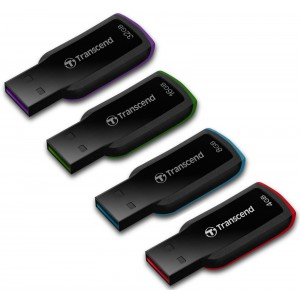 USB 2.0 Flash Drive 4GB (8-16-32), Transcend JetFlash 360