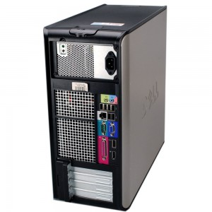 Компютър C2D E8600 3.33G 4GB-DDR2 250GB, DELL Optiplex 760 Tower