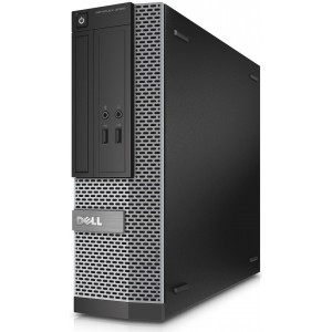 Компютър Core i5-4590 3.3G 4GB-DDR3 128GB SSD, DELL OptiPlex 3020 Slim Desktop