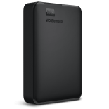Външен USB 3.0 HDD 1TB SATA3, WD Elements Portable