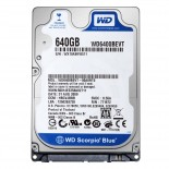 "HDD 2.5"" 640GB SATA2, Western Digital Blue"