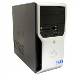 Работна станция Core i3-530 2.93G 4GB-DDR3 320GB nVidia Quadro FX580, DELL Precision T1500