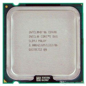 Процесор LGA775 Core2Duo E8400 3Hz, Intel