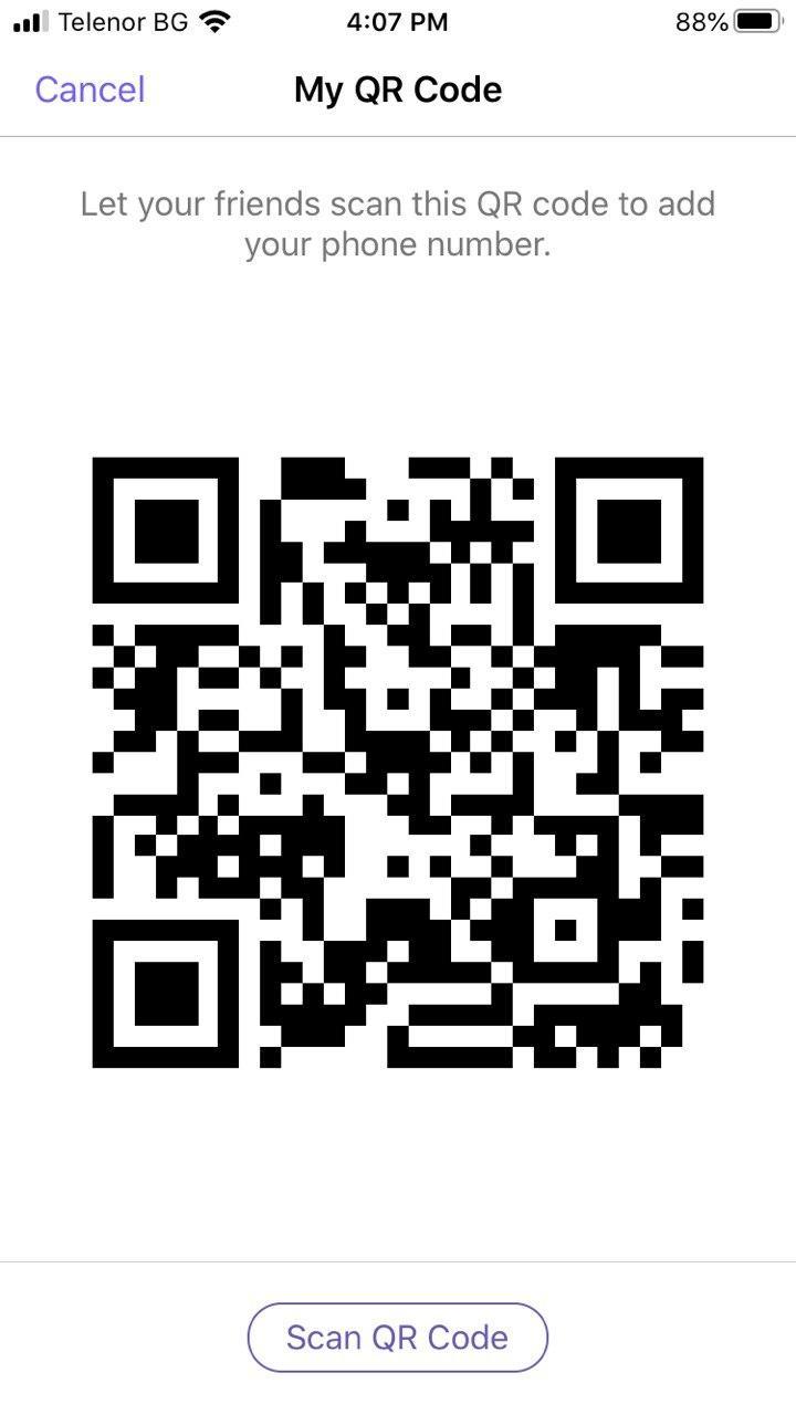 Viber QR code